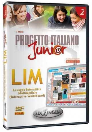 Progetto italiano junior 2 materiały do LIM