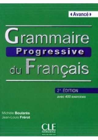 Grammaire progressive du Francais avance książka+CD audio 2E