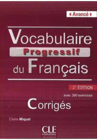 Vocabulaire progressif avance klucz 2 edycja
