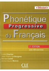 Phonetique progressive du franacia debutant książka 2 edycja