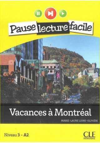 Vacances a Montreal książka + CD audio Pause lecture facile
