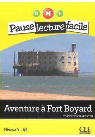 Aventure a Fort Boyard książka + CD audio Pause lecture faci
