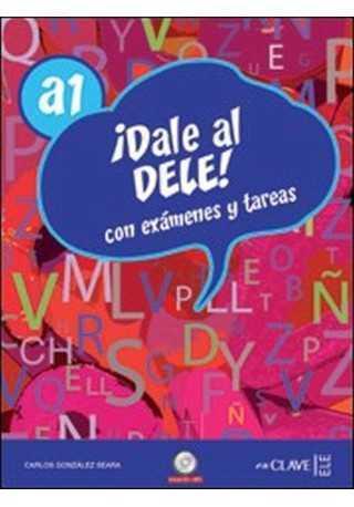 Dale al DELE A1 książka + 2 płyty CD audio + klucz