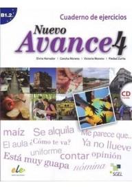 Nuevo Avance 4 ćwiczenia + CD audio