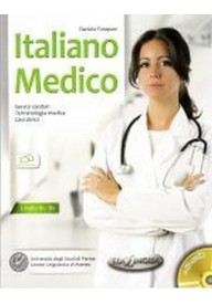 Italiano Medico książka + CD audio poziom B1-B2