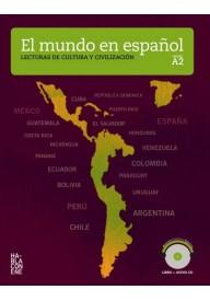 Mundo en espanol nivel A2 książka + płyta CD audio