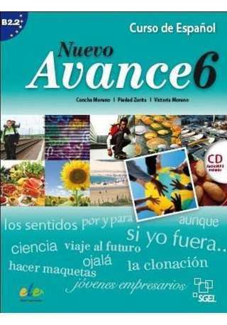 Nuevo Avance 6 podręcznik + CD audio