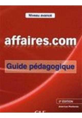 Affaires.com 2 edycja przewodnik metodyczny niveau avance