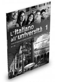 Italiano all'Universita 1 przewodnik metodyczny