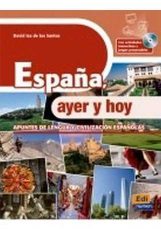 Espana ayer y hoy książka + CD audio