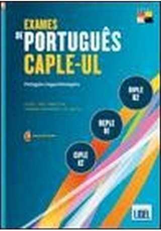 Exames de portugues CAPLE-UL CIPLE DEPLE DIPLE książka + CD