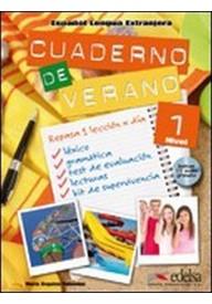 Cuaderno de verano 1 książka + płyta CD audio