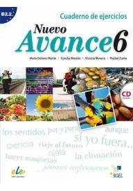 Nuevo Avance 6 ćwiczenia + płyta CD audio