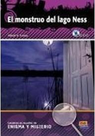 Monstruo del lago ness książka + płyta CD audio