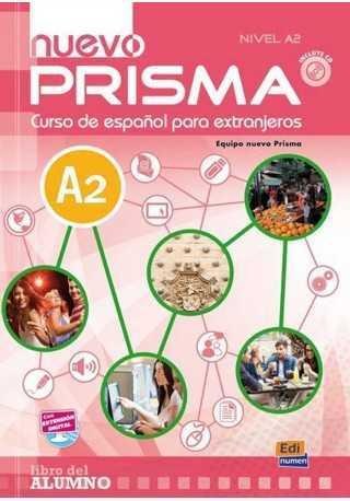 Nuevo Prisma nivel A2 podręcznik + CD audio