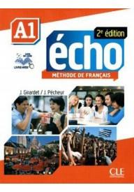 Echo A1 2ed podręcznik + płyta DVD ROM