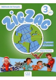 Zig Zag 3 A2.1 podręcznik + płyta CD audio