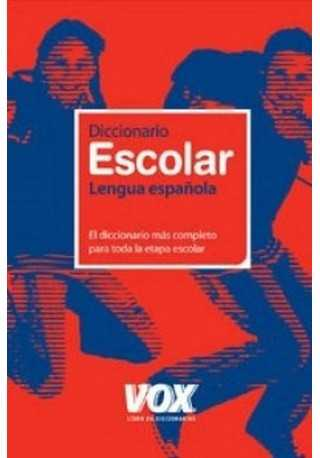 Diccionario escolar lengua espanola