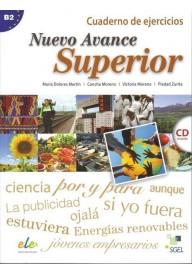 Nuevo Avance superior B2 ćwiczenia + płyta CD audio