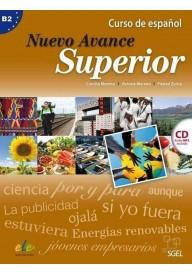 Nuevo Avance superior B2 podręcznik + płyta CD audio