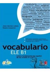 Vocabulario ELE B1 ksiażka