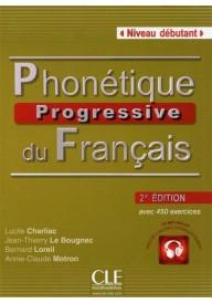 Phonetique progressive du francais debutant 2ed książka+CD