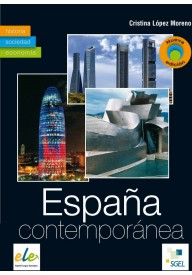 Espana contemporanea książka Nowa edycja
