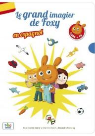 Grand imagier de Foxy en espagnol książka + CD
