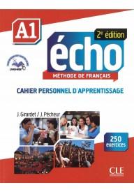 Echo A1 2ed ćwiczenia + płyta CD audio