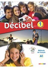Decibel 1 podręcznik + CD MP3+ płyta DVD
