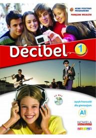 Decibel 1 podręcznik + płyta MP3 + minirepetytorium