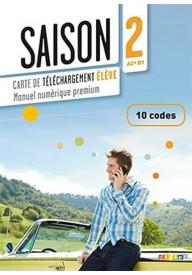 Saison 2 karta kodów 10 podręcznik