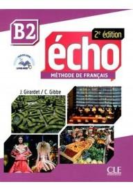 Echo B2 2ed podręcznik + płyta DVD