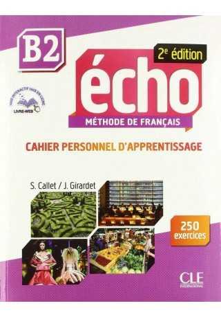Echo B2 2ed ćwiczenia + płyta CD