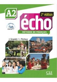Echo A2 2ed podręcznik + płyta DVD ROM