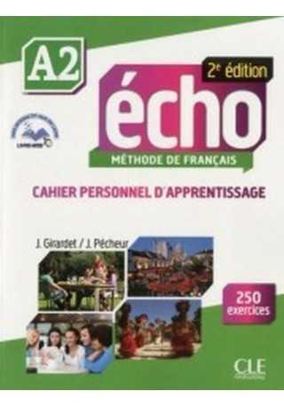 Echo A2 2ed ćwiczenia + płyta CD audio