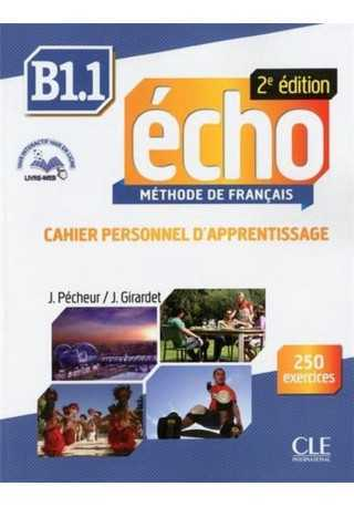 Echo B1.1 ćwiczenia + CD audio 2 edycja