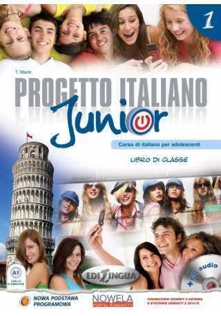 Progetto italiano junior 1 podręcznik+ćwiczenia+CD+słownicze
