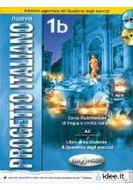 Nuovo Progetto italiano 1B podręcznik + ćwiczenia + DVD  Edizione aggionata