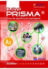 Nuevo Prisma A1 podręcznik + CD audio (Podręcznik wieloletni)