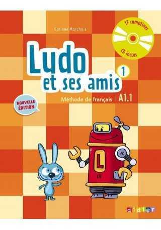 Ludo et ses amis 1 Nouvelle podręcznik + CD audio