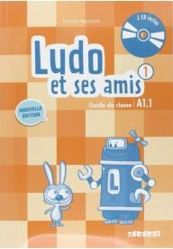 Ludo et ses amis 1 Nouvelle przewodnik metodyczny+płyty CD
