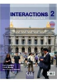 Interactions 2 podręcznik z ćwiczeniami + klucz + płyta DVD
