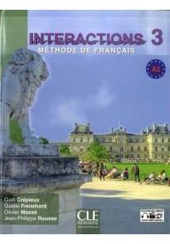 Interactions 3 podręcznik z ćwiczeniami + klucz + płyta DVD