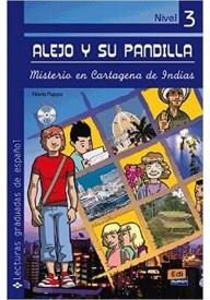 Misterio en Cartagena de Indias książka + CD audio
