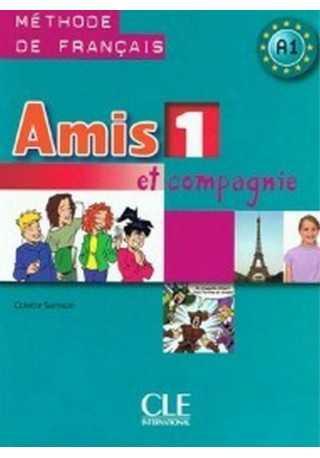 Amis et compagnie 1 podręcznik + płyta MP3+minirepetytorium