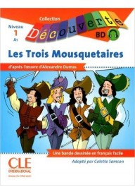 Trois Mausquetaires Nivel A1 - livres + CD Audio