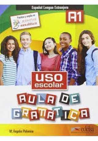 Uso escolar A1 aula de gramatica książka