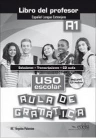 Uso escolar A1 aula de gramatika przewodnik metodyczny+CD