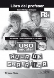 Uso escolar A2+ aula de gramatica przewodnik metodyczny+CD